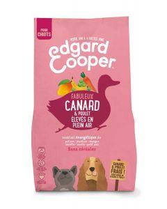 Edgard & Cooper Croquettes Canard et Poulet frais sans céréales Chiot 2,5 kg- La Compagnie des Animaux