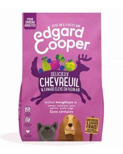 Edgard & Cooper Croquettes Chevreuil frais & Canard Chien adulte 700 g- La Compagnie des Animaux