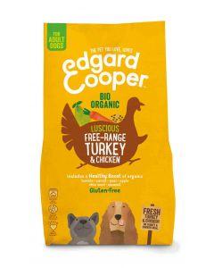 Edgard & Cooper Croquettes Dinde & Poulet Frais Bio sans céréales Chien Adulte 2.5 kg- La Compagnie des Animaux