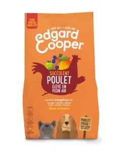 Edgard & Cooper croquettes sans céréales au poulet frais pour chien adulte 700 g