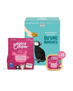 Edgard & Cooper Coffret pour chaton 11 produits