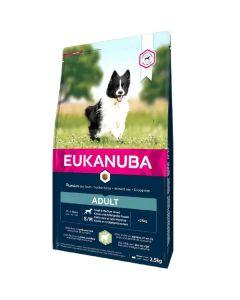 Eukanuba Chien Adult Petite et Moyenne Race Agneau et Riz 2.5 kg