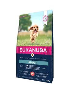 Eukanuba Chien Adult Petite et Moyenne Race Saumon & Orge 2.5 kg
