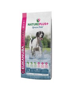 Eukanuba Natureplus+ Grain Free Adult saumon 10 kg