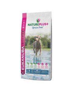 Eukanuba Natureplus+ Grain Free Chiot saumon 10 kg