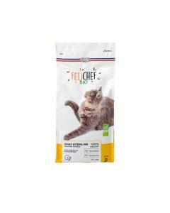 Felichef croquettes BIO chat stérilisé 2 kg
