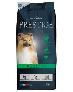 Flatazor Prestige Adult 7+ chien 15kg - La Compagnie des Animaux
