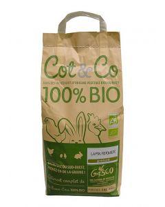 Gasco Cot & Co Granulés Bio Lapin 5 kg - Dogteur