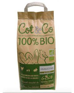 Gasco Cot&Co Bio pour volaille 2eme âge 5 kg - Dogteur