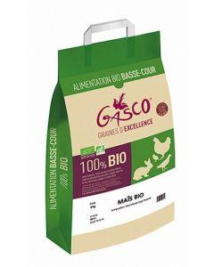 Gasco Maïs Bio pour volaille et basse cour 8 kg - La Compagnie des Animaux