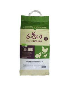 Gasco Mélange Pondeuse Bio 8 kg - La Compagnie des Animaux