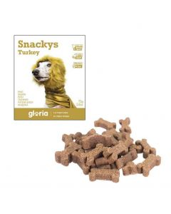 Gloria Snakys friandises au dindon sans gluten pour chien 75 g