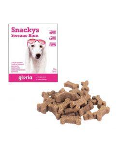 Gloria Snakys friandises au jambon de sarrano sans gluten pour chien 75 g