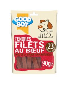 Good Boy Filets au Bœuf 90 grs