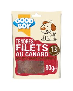 Good Boy Filets au Canard 80 grs - La Compagnie des Animaux