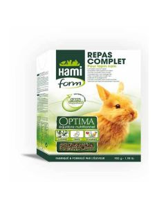 Hami Form Repas Complet Optima Lapin Nain 900 grs - La compagnie des animaux