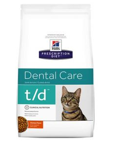 Hill's Prescription Diet Feline T/D 1.5 kg- La Compagnie des Animaux