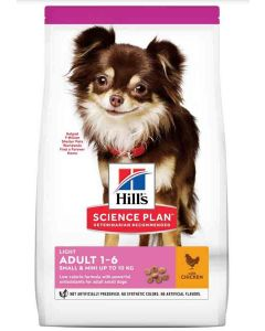 Hill's Science Plan Canine Adult Light Small & Mini Poulet 6 kg