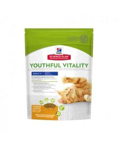 Hill's Science Plan Youthful Vitality Chat adult 7+ poulet 1,5 kg- Dogteur