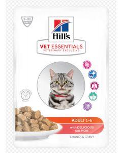 Hill's VetEssentials Feline Adult Saumon 12 x 85 g