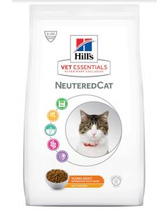Hill's VetEssentials Neutered Cat Young Adult Poulet 8 kg