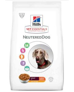 Hill's VetEssentials Neutered Dog Adult Large Breed Poulet 12 kg