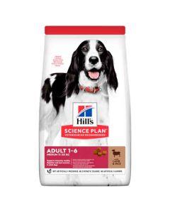 Hill's Science Plan Canine Adult Medium Agneau & Riz 14 kg