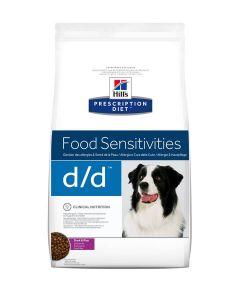 Hill's Prescription Diet Canine D/D Canard et Riz 2 kg- La Compagnie des Animaux