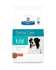 Hill's Prescription Diet Canine T/D 3 kg- La Compagnie des Animaux
