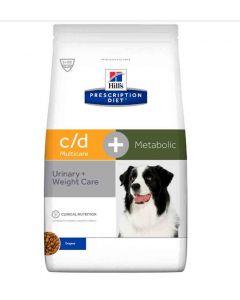 Hill's Prescription Diet Canine C/D Multicare + Metabolic 2 kg