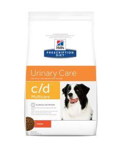 Hill's Prescription Diet Canine C/D 2 kg- La Compagnie des Animaux