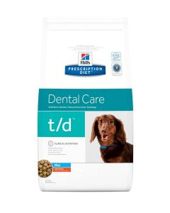 Hill's Prescription Diet Canine T/D MINI 3 kg- La Compagnie des Animaux