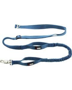 I-DOG Laisse de Traction Canicross Bleu/Gris - Dogteur
