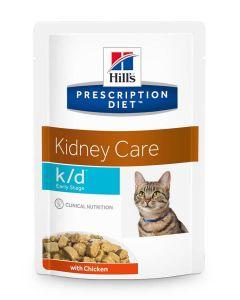 Hill's Prescription Diet Feline K/D Early Stage 12 x 85 g- La Compagnie des Animaux