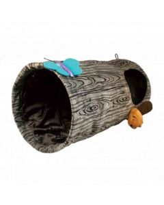 KONG Espaces Tunnel de jeu Tronc d'Arbre- La Compagnie des Animaux