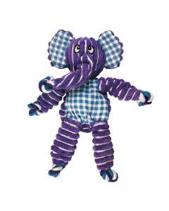 Kong Floppy Knots elephant peluche pour chien - La Compagnie des Animaux