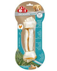 8in1 Delights Pro Dental Bone pour chien L
