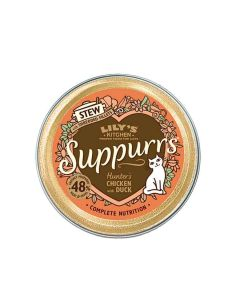 Lily's Kitchen Suppurrs au Poulet et Canard Chat 9 x 85 g