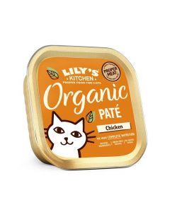 Lily's Kitchen Organic Délice de Poulet Bio pour Chat 19 x 85 g- La Compagnie des Animaux