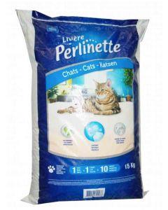 Litiere Perlinette cristaux chats 15 kg