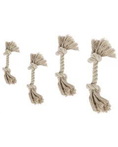 M-Pets Rope 26 cm jouet corde beige chien