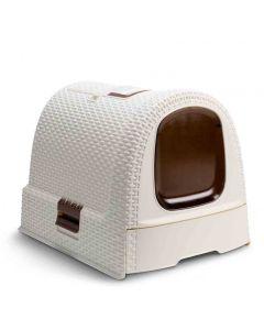Maison de Toilette Curver Petlife Litter Box Ivoire