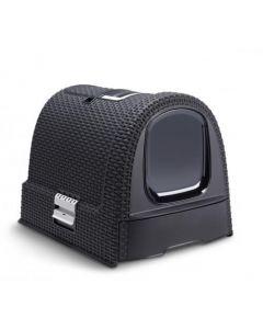 Maison Toilette Curver Petlife Litter Box Anthracite