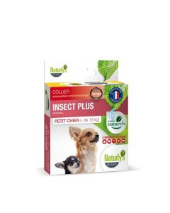 Naturlys Collier insect plus petit chien - de 15 kg