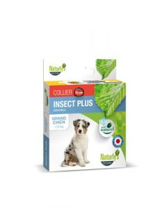 Naturlys Collier insect plus grand chien