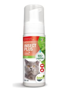Naturlys mousse insect plus Bio chat 125 ml