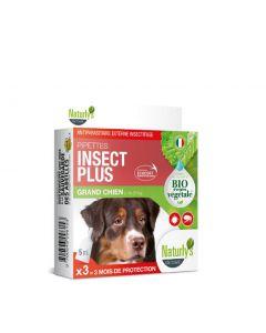 Naturlys pipettes insect plus Bio grand chien x3
