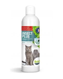 Naturlys Shampooing insect plus chat et chaton 240 ml - La Compagnie des Animaux