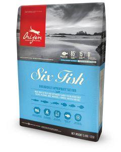 Orijen 6 Fish Chat 1,8 kg - La Compagnie des Animaux