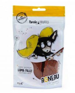 Parole de Truffes Friandises Filet d'agneau pour chien 80 g- La Compagnie des Animaux